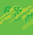 oak forest vector image