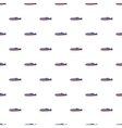 Submarine pattern cartoon style vector image vector image