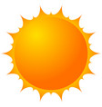 sun clip-art sun for weather summer vacation vector image