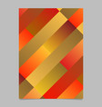 trendy abstract geometrical diagonal rectangle vector image vector image