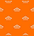 warehouse pattern seamless vector image vector image