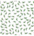 Cartoon money fall down like rain vector image vector image