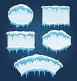 icicles boards for sale vector image