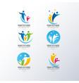 logos collection vector image vector image