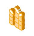 agricultural cane isometric icon vector image vector image