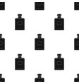 bottle of french perfume icon in black style vector image