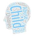 Children in need not misdeed text background vector image vector image