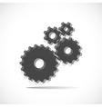 Cogwheels gears vector image vector image