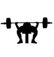 male powerlifter bench press
