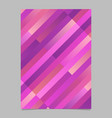 modern geometrical abstract gradient stripe flyer vector image vector image