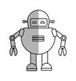 robot technology future innovation vector image