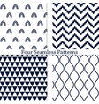 the geometric patterns vector image