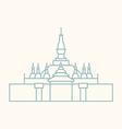 Vientiane vector image vector image