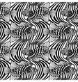 Graphic lion fish pattern vector image