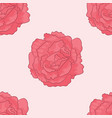 pattern of pink poses vector image