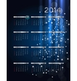 2014 new year calendar vector image
