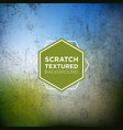 abstract grunge background with scratched texture vector image vector image