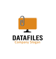 Data files Design vector image