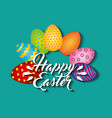 easter egg paint icon vector image vector image