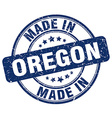 made in Oregon vector image vector image