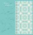 oriental mandala poster design asian arabic vector image vector image