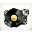 Phonograph turntable vector | Price: 1 Credit (USD $1)