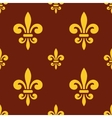 royal lily pattern vector image vector image