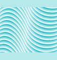turquoise abstract wave background vector image