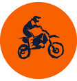 moto racer extreme vector image