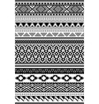 aztec and amazon ethnic patterns set of 12 items vector image