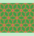 background with seamless pattern in islamic or vector image vector image