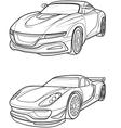 car4 vector image vector image