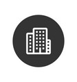 city icon in modern style for web site and mobile vector image vector image