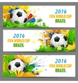 FIFA World Cup banner vector image
