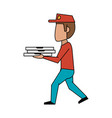 food delivery icon image vector image vector image