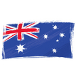 Grunge australia flag vector | Price: 1 Credit (USD $1)
