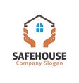 Safe House Design vector image vector image