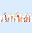 scorecard customer review client feedback service vector image