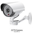 security camera cctv eps 10 vector image