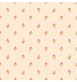 Tile pattern with cupcakes on pink background