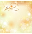 Abstract spring Sunny background vector image vector image