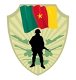 Army of Cameroon vector image vector image