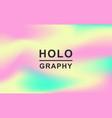 holographic retro 80s 90s futuristic cover vector image vector image
