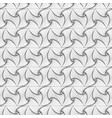 monochrome spiral triangle seamless pattern vector image