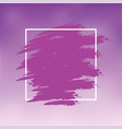 purple abstract background brush paint texture vector image vector image