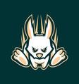 running rabbit vector image vector image