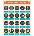 Smart devices and wearable vector image vector image