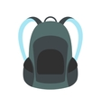 Touristic backpack icon vector image vector image