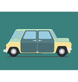 Vintage Isolated car vector image vector image