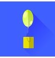 Yellow Balloon vector image vector image